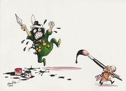 cartoon by Harn Lay