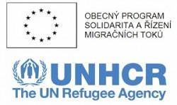 ERF-UNHCR logos