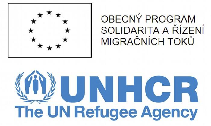 ERF UNHCR logos